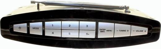 Dual DAB 15 DAB+ Kofferradio DAB+, UKW wiederaufladbar Schwarz