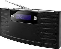 DAB+ přenosné rádio Dual DAB 15, DAB+, FM, černá