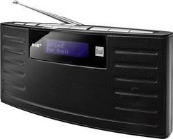 DAB+ přenosné rádio Dual DAB 15, DAB+, FM, s akumulátorem, černá