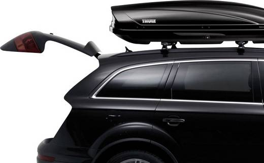 thule dynamic m black glossy dachbox 320 l schwarz. Black Bedroom Furniture Sets. Home Design Ideas
