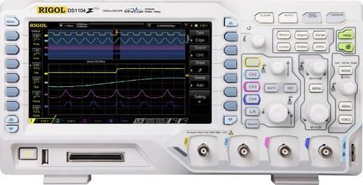 Rigol DS1104Z-S Plus Digital-Oszilloskop 100 MHz 4-Kanal 1 GSa/s 24 Mpts 8 Bit Digital-Speicher (DSO), Funktionsgenerat