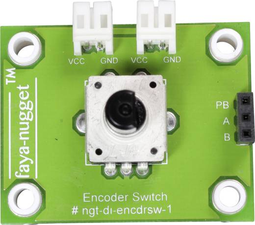 Fayalab Faya-Nugget Encoder Switch Modul 801-NU0018 Passend für (Arduino Boards): Arduino, Fayaduino