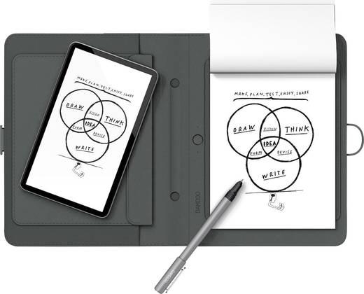 tablet dockingstation wacom bamboo spark mit tablet sleeve live bertragung grau kaufen. Black Bedroom Furniture Sets. Home Design Ideas