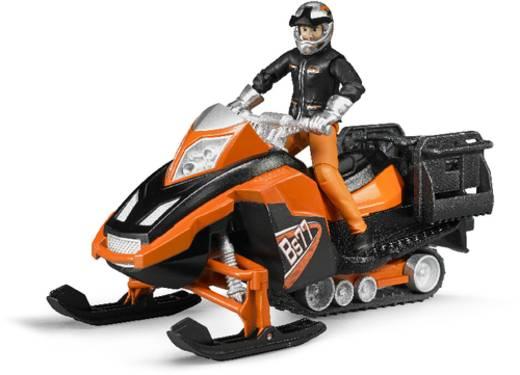 Bruder Snowmobil mit Fahrer und Ausstattung