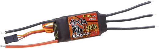 Flugmodell Brushless Flugregler Robitronic Akia 30A / 2-4S Lipo / 2A BEC Belastbarkeit (max.): 40 A
