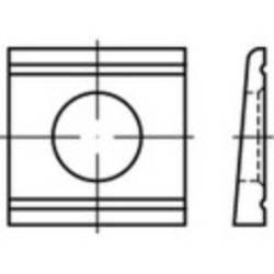 Cale oblique TOOLCRAFT 139583 N/A Ø intérieur: 17 mm acier 50 pc(s)