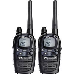 PMR a LPD rádiostanice/vysielačky Midland G7 Pro Twin C1090.06, sada 2 ks