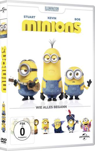 DVD Die Minions Universal Pictures FSK 0
