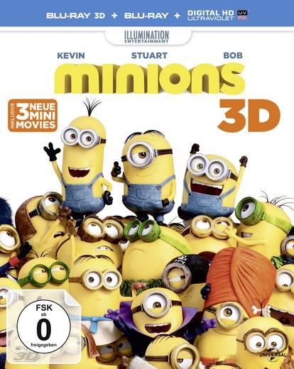 blu-ray 3D 3D Blu Ray Die Minions FSK: 0