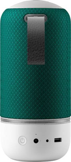 Multiroom Lautsprecher Libratone Zipp Mini Deep Lagoon AUX, USB, WLAN, Bluetooth®, Air-Play, DLNA Freisprechfunktion Gr