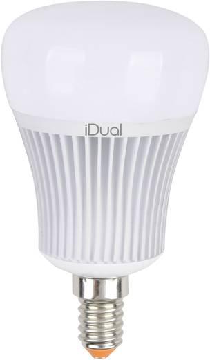 JEDI Lighting LED E14 Glühlampenform 7 W = 40 W RGBW (Ø x L) 60 mm x 104 mm EEK: A+ colorchanging, dimmbar 1 St.