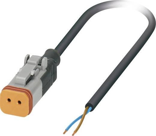 Sensor-/Aktor-Steckverbinder, konfektioniert Buchse, gerade 5 m Polzahl: 2 Phoenix Contact 1410726 SAC-2P- 5,0-PUR/DTFS
