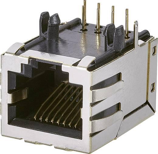 Modular-Einbaubuchse, 1 Port, Buchse, Einbau horizontal Pole: 10P8C A60-113-300P432 Metall EDAC A60-113-300P432 1 St.
