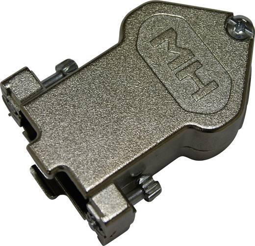 D-SUB Gehäuse Polzahl: 15 Vernickelt 45 ° Nickel MH Connectors MHDU45ZK15-K 1 St.