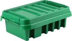 Rozváděč Heitronic Dribox 285 21043, zelená