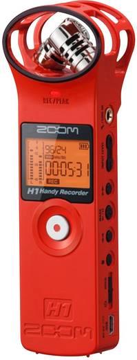 ZOOM H1 AUFNAHME-RECORDER ROT