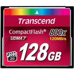 CF pamäťová karta, 128 GB, Transcend Premium 800x TS128GCF800