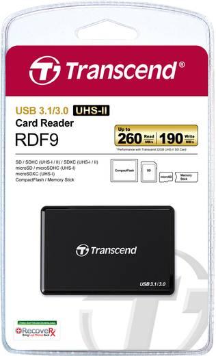 Externer Speicherkartenleser USB 3.1 Transcend TS-RDF9K Schwarz