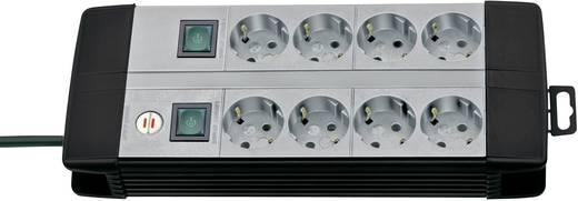 Brennenstuhl 1256550018 Steckdosenleiste mit Schalter 8fach Schwarz, Grau Schutzkontakt