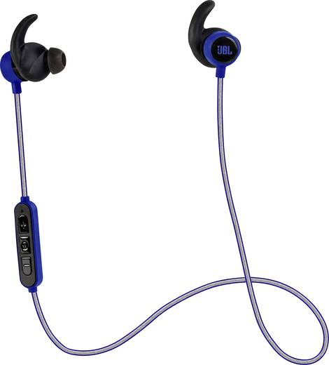 JBL Harman Reflect Mini BT Bluetooth® Sport Kopfhörer In Ear Headset, Schweißresistent Blau