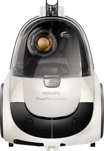 Philips FC9327/09 PowerPro Compact Staubsauger ohne Beutel 750 W Energieeffizienzklasse (A - G) B Weiß, Grau (matt)