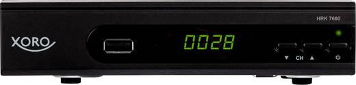 Xoro HRK 7660 HD-Kabel-Receiver Aufnahmefunktion, Front-USB Anzahl Tuner: 1