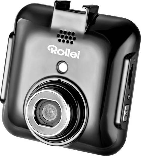 Dashcam Rollei DVR-71 Blickwinkel horizontal max.=120 ° 12 V Akku, Display, Mikrofon