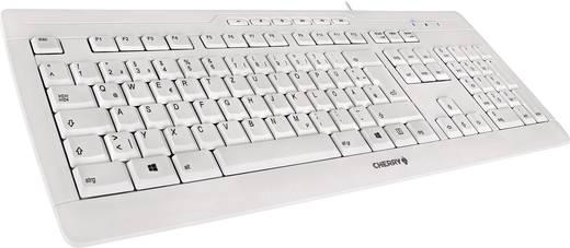 CHERRY Stream 3.0 USB-Tastatur Grau Ergonomisch, Spritzwassergeschützt