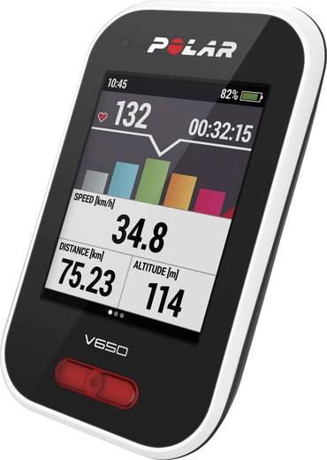Fahrradcomputer, kabellos Polar V650 Bluetooth mit Vollgrafikdisplay