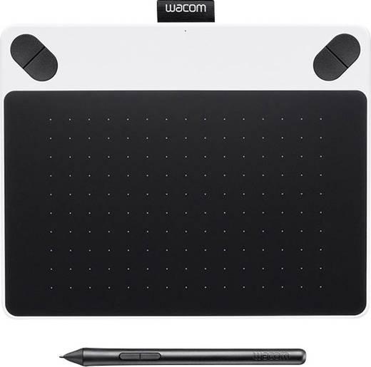Wacom Intuos Draw White + Pen S USB-Grafiktablett Weiß
