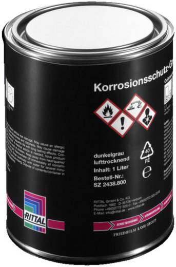 Rittal SZ 2438.800 Korrosionsschutz Farbdose Dunkel-Grau 1000 ml