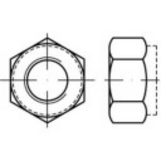 TOOLCRAFT 139779 Sicherungsmuttern M8 DIN 6924 Stahl galvanisch verzinkt 100 St.