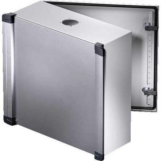 Installations-Gehäuse 500 x 500 x 210 Aluminium, Stahlblech, Kunststoff Hellgrau Rittal CP 6320.400 1 St.