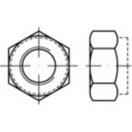 Sicherungsmuttern M10 DIN 6925 Stahl galvanisch verzinkt 100 St. TOOLCRAFT 139786