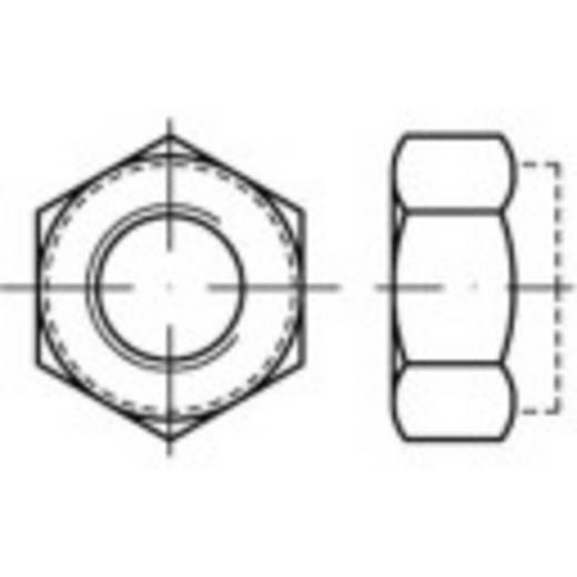 Sicherungsmuttern M12 DIN 6925 Stahl galvanisch verzinkt 100 St. TOOLCRAFT 139796