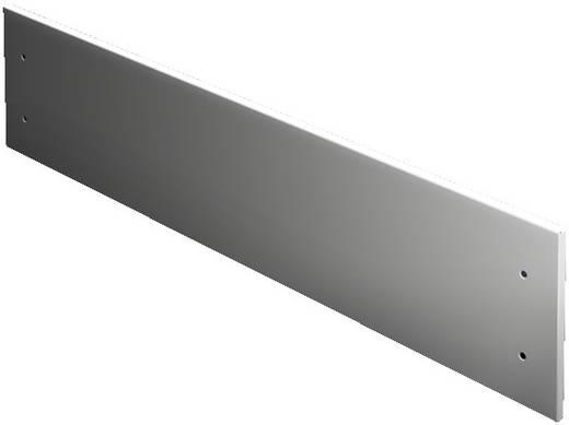 Frontplatte geschlossen (L x B) 100 mm x 400 mm Stahlblech Hellgrau Rittal SV 9672.314 1 St.