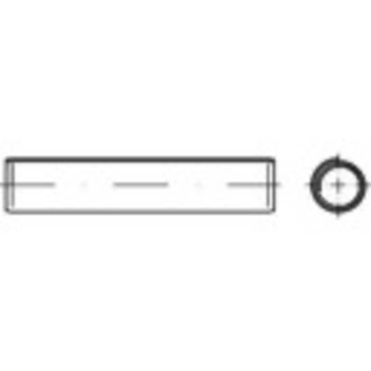 Spiral-Spannstifte (Ø x L) 4 mm x 10 mm Federstahl TOOLCRAFT 500 St.
