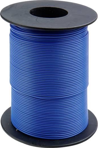 Litze 1 x 0.14 mm² Blau BELI-BECO L118/100 bu 100 m