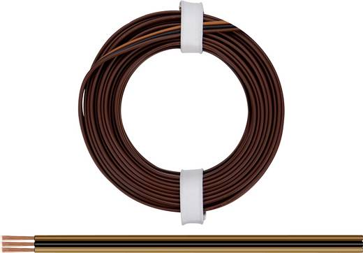 Litze 3 x 0.14 mm² Hell-Braun, Schwarz, Dunkel-Braun BELI-BECO L318/5F 5 m