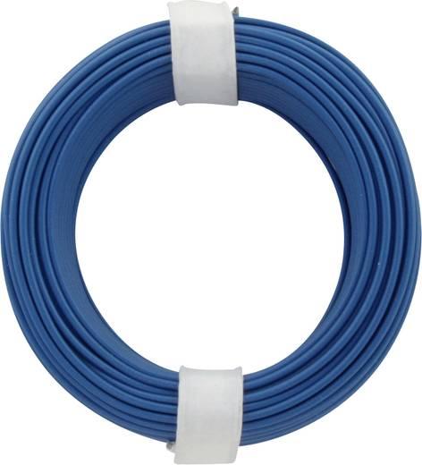 Litze 1 x 0.14 mm² Blau BELI-BECO L118/10 bu 10 m