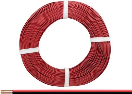 Litze 2 x 0.14 mm² Rot-Schwarz BELI-BECO L2218/50 50 m kaufen