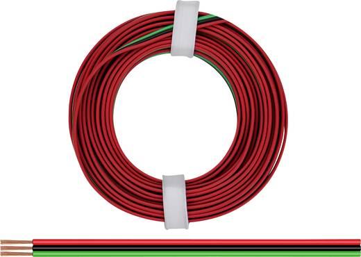 Litze 3 x 0.14 mm² Rot, Grün, Schwarz BELI-BECO L318/5R 5 m