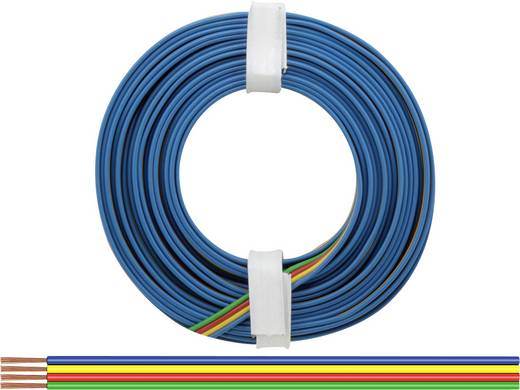 BELI-BECO L418/5 Litze 4 x 0.14 mm² Grün, Rot, Gelb, Blau 5 m