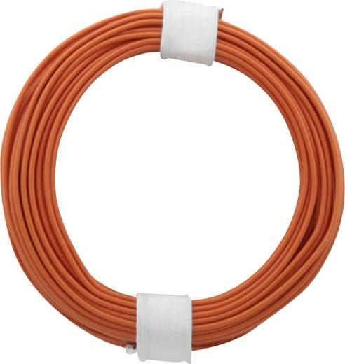 Litze 1 x 0.14 mm² Orange BELI-BECO L118/10 og 10 m