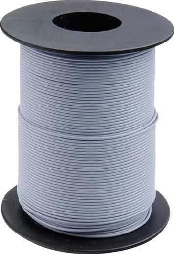 Litze 1 x 0.14 mm² Grau BELI-BECO L118/100 gu 100 m