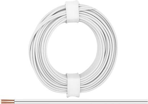 Litze 2 x 0.14 mm² Weiß BELI-BECO L218/5 wß 5 m