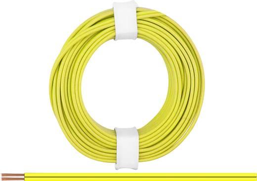 BELI-BECO L218/5 ge Litze 2 x 0.14 mm² Gelb 5 m