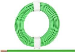 Fil de câblage BELI-BECO L218/5 gn 2 x 0.14 mm² vert 5 m