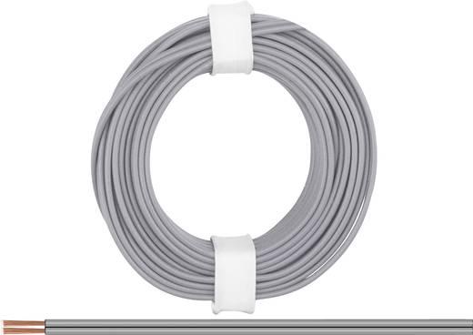 Litze 2 x 0.14 mm² Grau BELI-BECO L218/5 gr 5 m