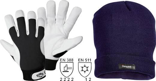Nappaleder Arbeitshandschuh Größe (Handschuhe): 8, M EN 388 , EN 511 CAT II L+D Griffy 1246 1 Set